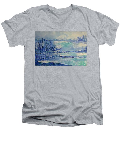 Blue Reflections Men's V-Neck T-Shirt
