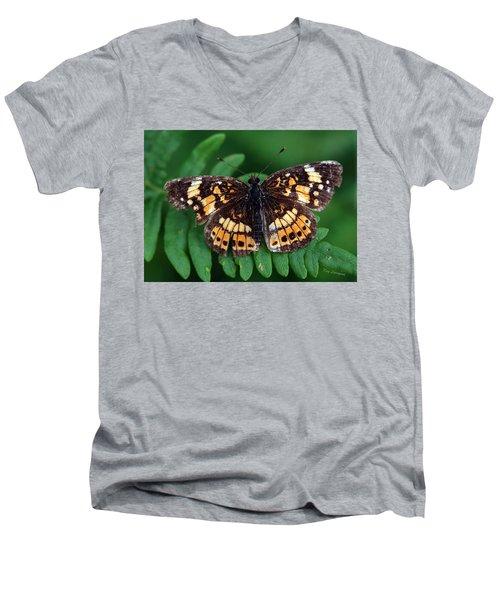 Blue Ridge Butterfly Men's V-Neck T-Shirt