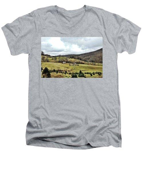 Blue Ridge Homestead Men's V-Neck T-Shirt