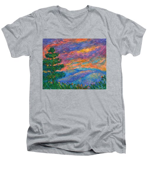 Blue Ridge Jewels Men's V-Neck T-Shirt