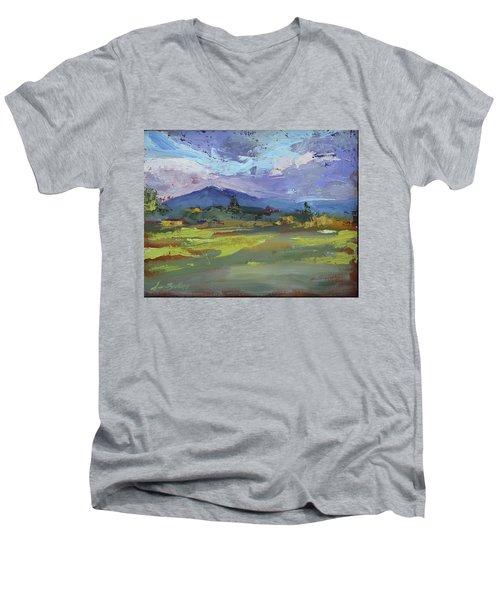 Blue Ridge Parkway Lookout Men's V-Neck T-Shirt