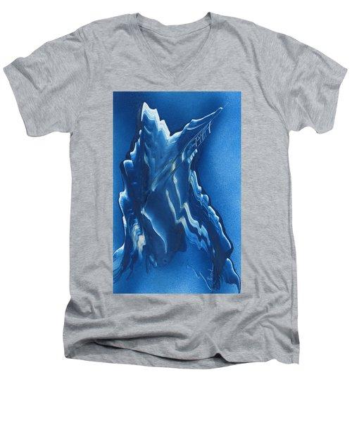 Blue Ridge Space Mountain Men's V-Neck T-Shirt