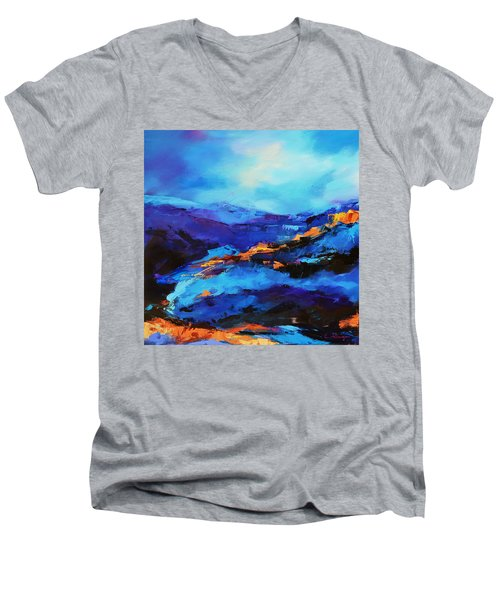 Blue Shades Men's V-Neck T-Shirt