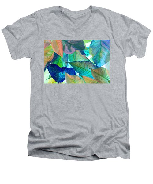Blue Velvet Men's V-Neck T-Shirt by Bobby Villapando