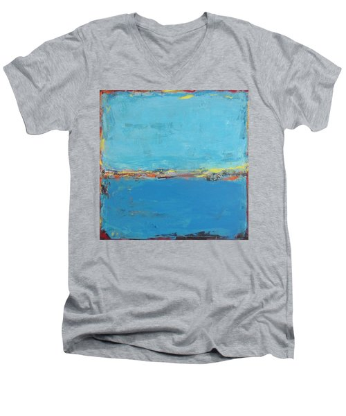 Blue World Men's V-Neck T-Shirt