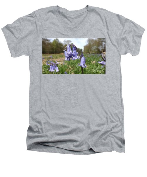Bluebells Men's V-Neck T-Shirt
