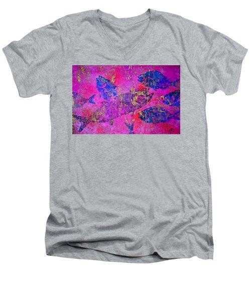 Bluefish Mascara - Maurada - Food Chain Men's V-Neck T-Shirt