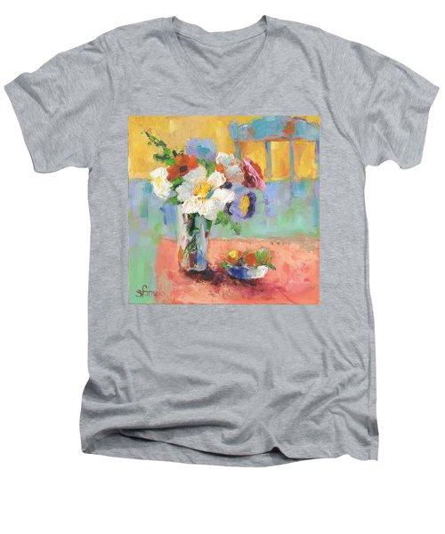 Blues Chair Men's V-Neck T-Shirt