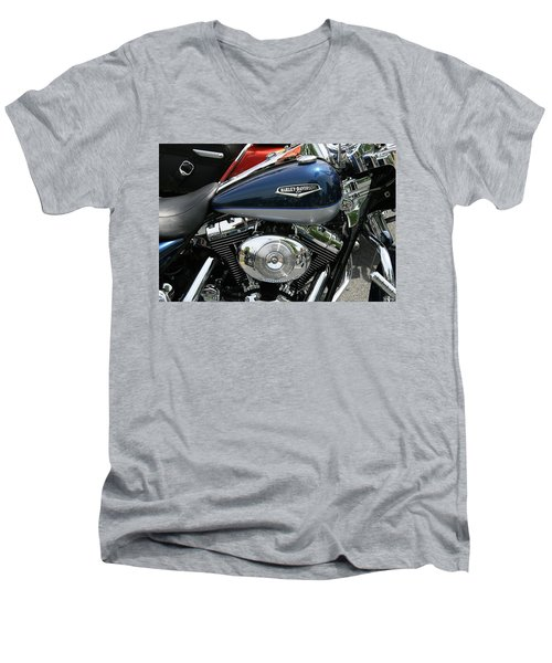 Blues Men's V-Neck T-Shirt