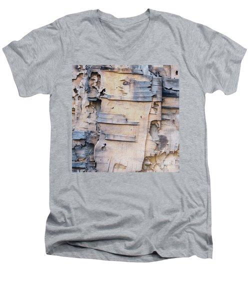 Blues Run The Game Men's V-Neck T-Shirt