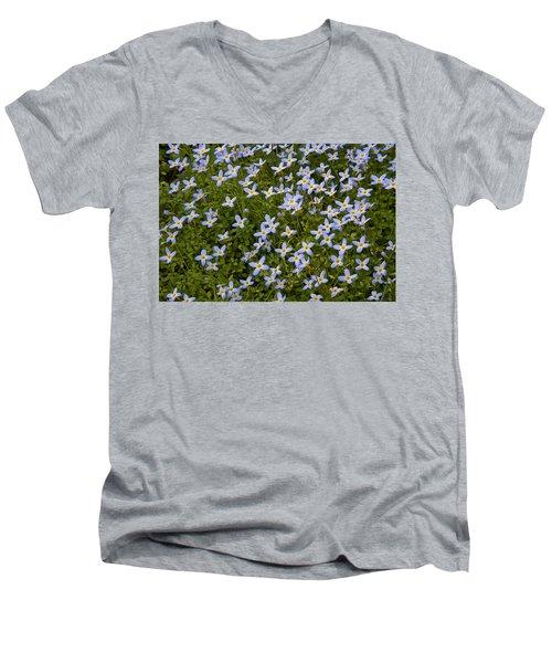 Bluets Men's V-Neck T-Shirt