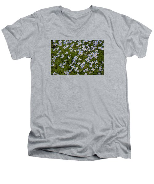 Bluets Men's V-Neck T-Shirt