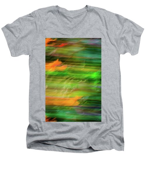 Blurred #11 Men's V-Neck T-Shirt
