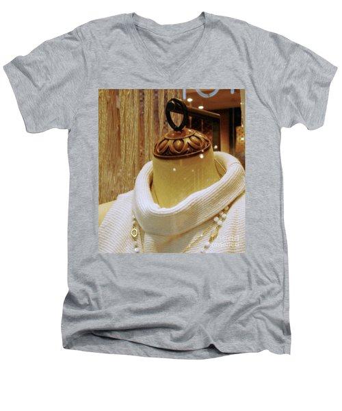 Blvd Vintage Men's V-Neck T-Shirt
