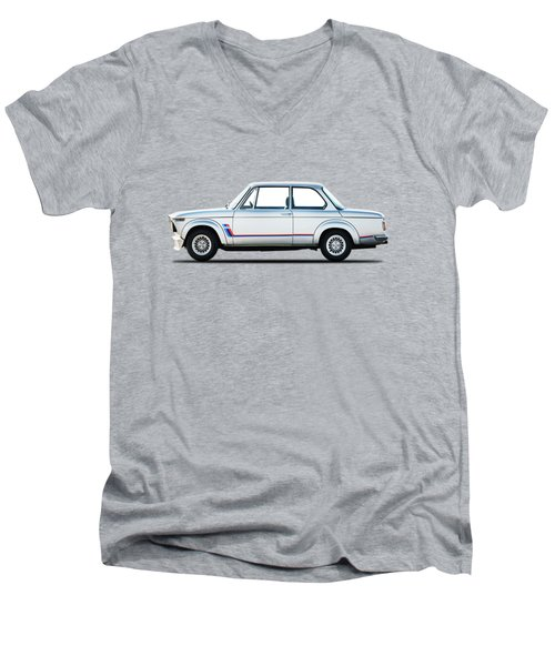 Bmw 2002 Turbo Men's V-Neck T-Shirt