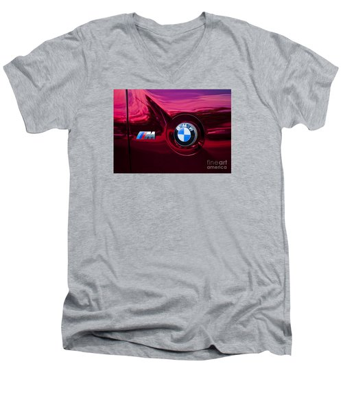 Bmw M3 Badges Men's V-Neck T-Shirt