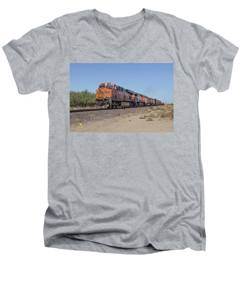 Bnsf7890 Men's V-Neck T-Shirt