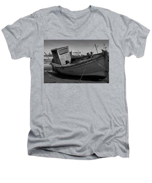 Boarded Up Men's V-Neck T-Shirt
