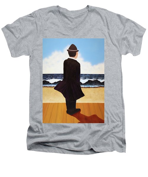 Boardwalk Man Men's V-Neck T-Shirt