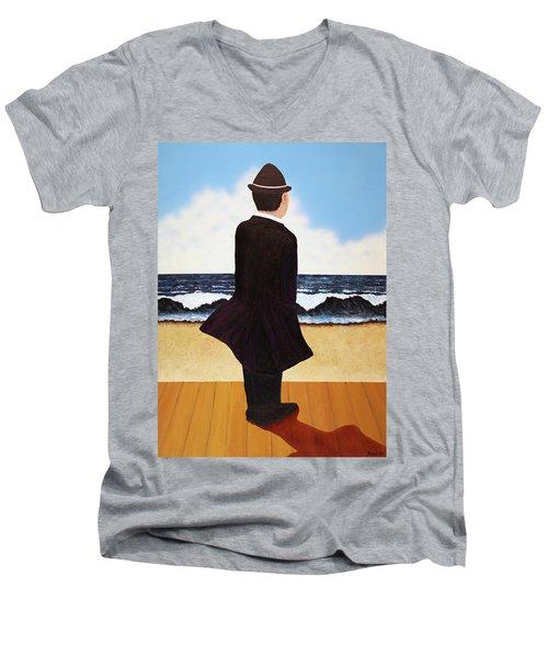 Boardwalk Man Men's V-Neck T-Shirt