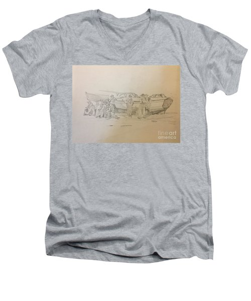 Boat Crew Men's V-Neck T-Shirt