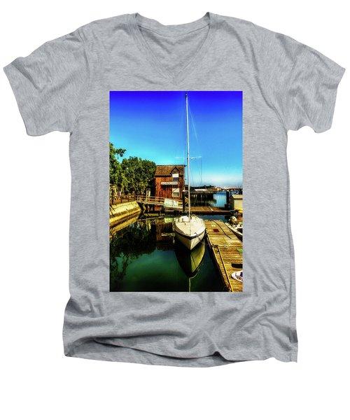 Boat Landing P O C Men's V-Neck T-Shirt