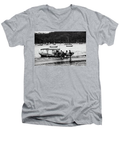 Boats And Boards  Men's V-Neck T-Shirt