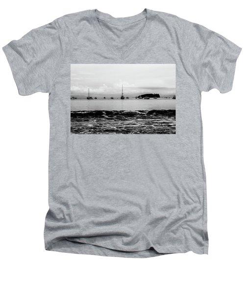 Boats And Waves 2 Men's V-Neck T-Shirt