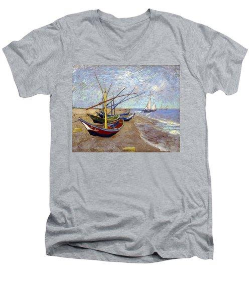 Boats Men's V-Neck T-Shirt