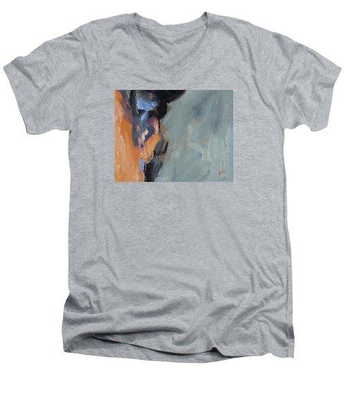 Bob S Ear Men's V-Neck T-Shirt by Nop Briex