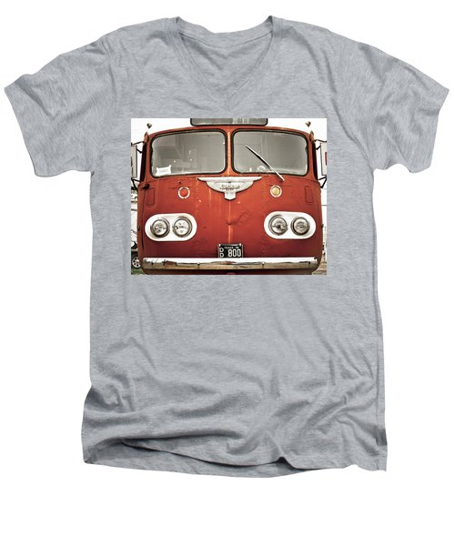Bob Wills Bus Men's V-Neck T-Shirt