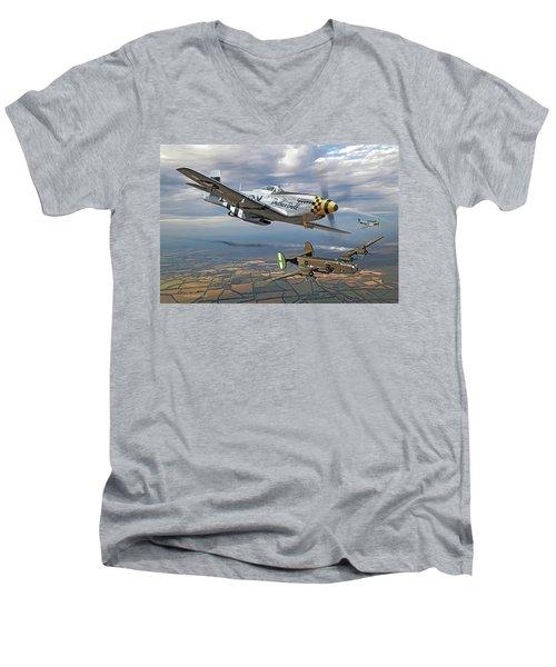 Bobak's Crew Men's V-Neck T-Shirt