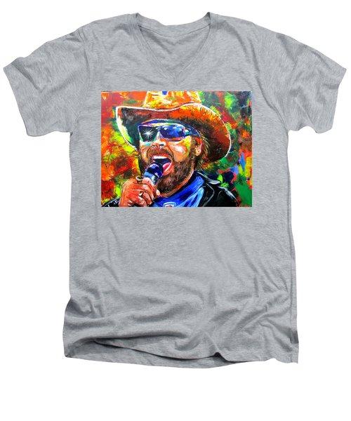 Bocephus Men's V-Neck T-Shirt