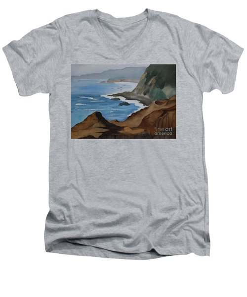 Bodega Bay Men's V-Neck T-Shirt