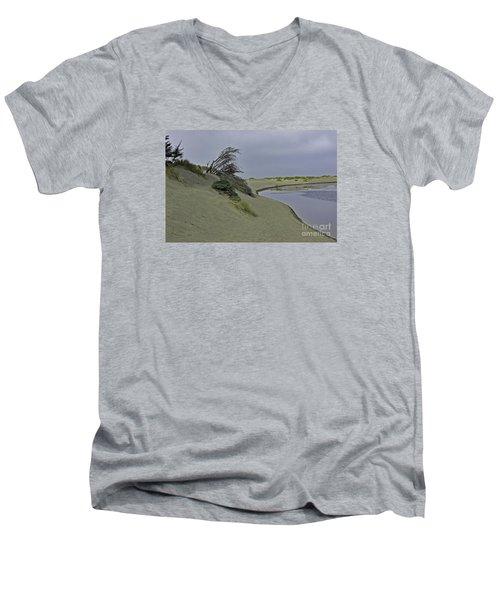 Bodega Dunes Men's V-Neck T-Shirt