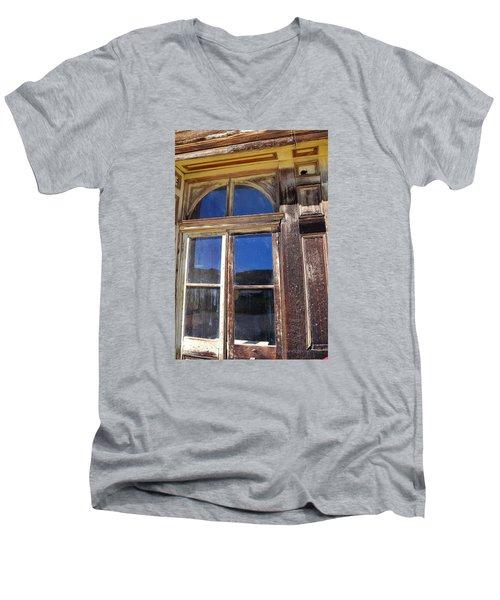 Bodie Woodwork Men's V-Neck T-Shirt