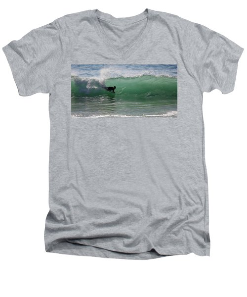 Body Surfer Men's V-Neck T-Shirt