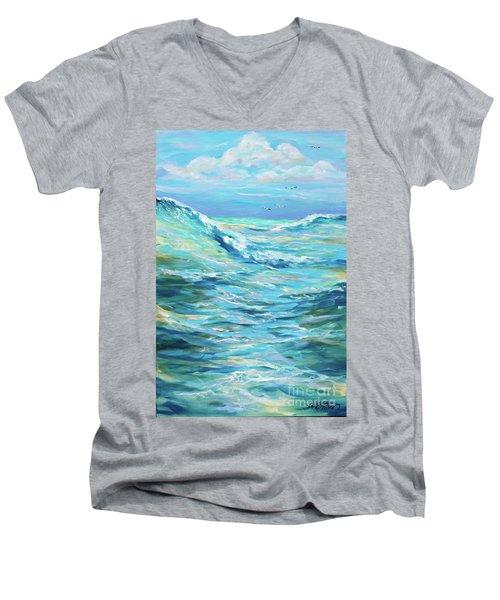 Bodysurfing Afternoon Men's V-Neck T-Shirt