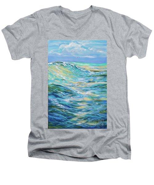 Bodysurfing North Men's V-Neck T-Shirt