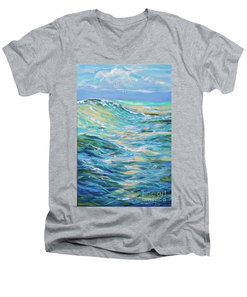 Bodysurfing North Men's V-Neck T-Shirt