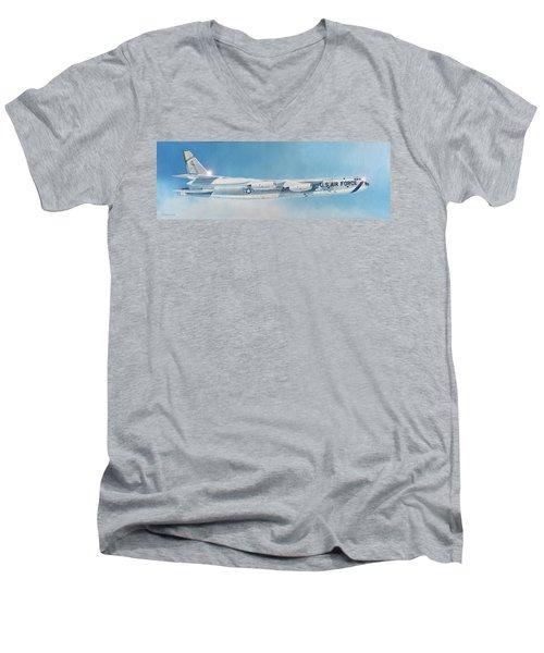 Boeing B-52d Stratofortress  Men's V-Neck T-Shirt