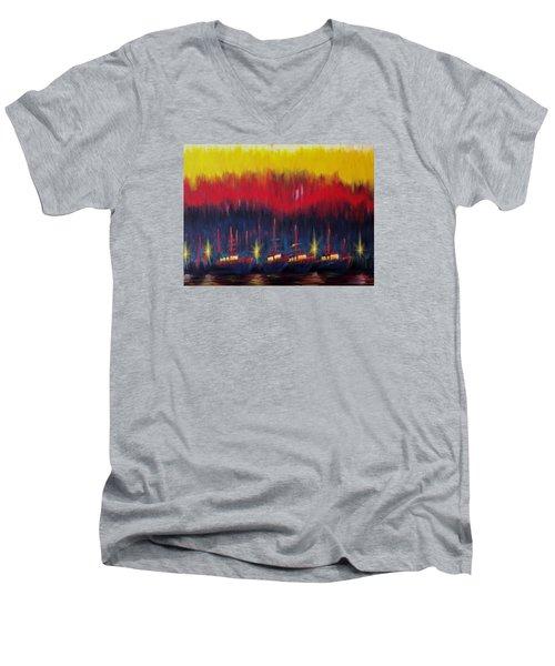 Bold Boats Men's V-Neck T-Shirt