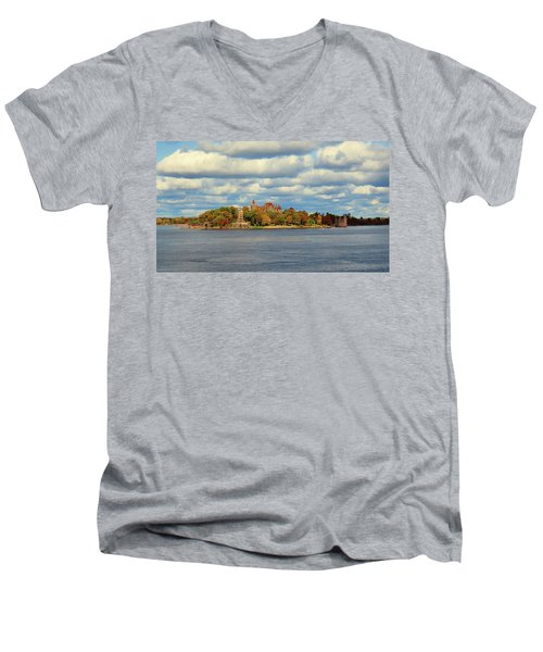Boldt Castle Men's V-Neck T-Shirt