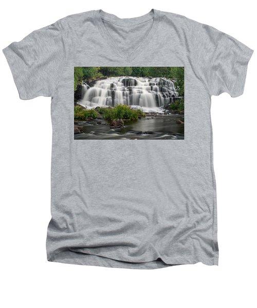 Bond Falls Men's V-Neck T-Shirt