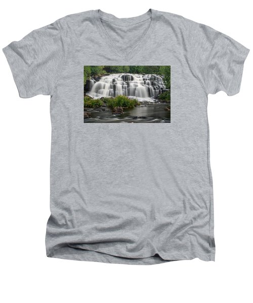 Bond Falls Men's V-Neck T-Shirt