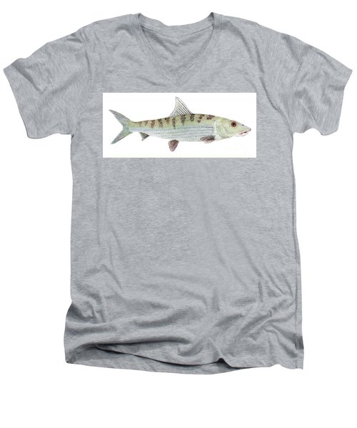 Bonefish Men's V-Neck T-Shirt