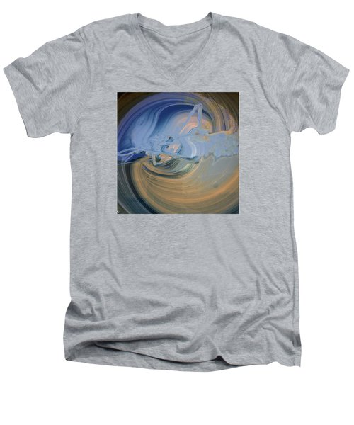 Boney Grandma Flight Men's V-Neck T-Shirt