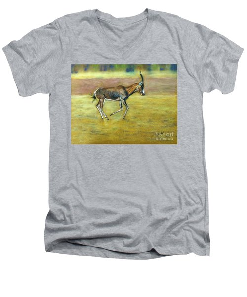 Bontebok Men's V-Neck T-Shirt
