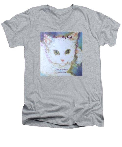Book Misty My Cat Men's V-Neck T-Shirt
