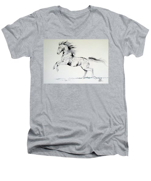 Loud Appaloosa Men's V-Neck T-Shirt